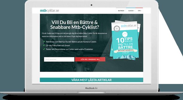 MtbCyklar.se Eget Projekt
