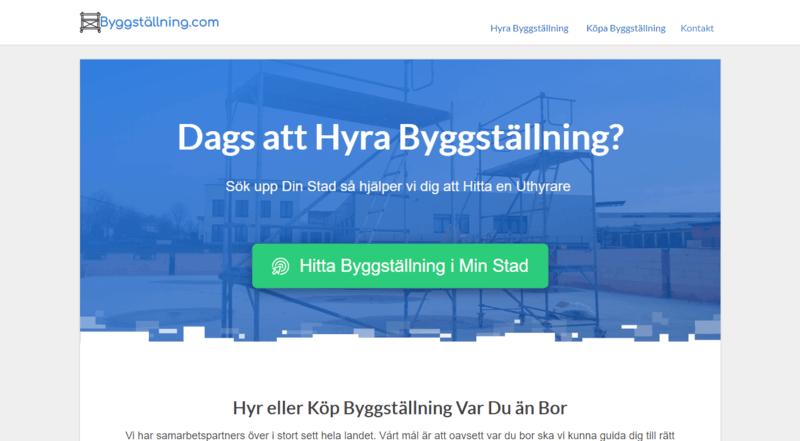Sajten Byggställning.com